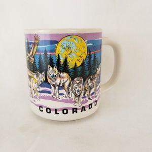 Vintage 1990s Colorado Coffee Mug